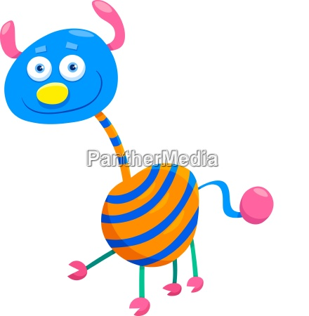 fantasy creature cartoon character