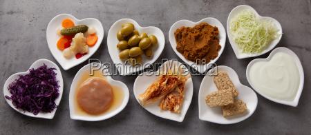 panorama banner gesunder fermentierter lebensmittel
