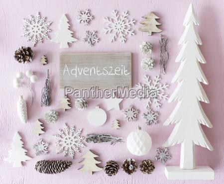 weihnachtsdekoration flat lay adventszeit bedeutet adventszeit