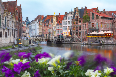 old town of ghent belgium