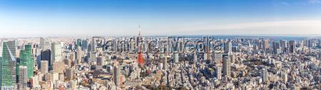 tokyo tower tokyo japan