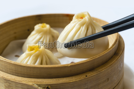 traditional shanghai dumpling also called xiaolongbao