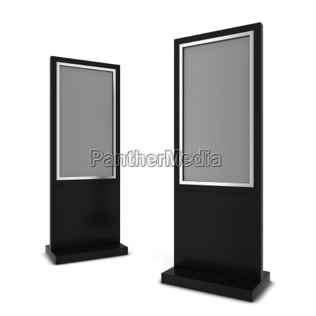 zwei lcd displays