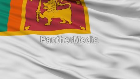 sri lanka marine faehnrich flagge nahaufnahme