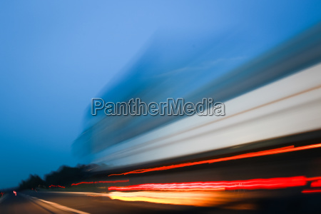 abstract lines of traffic