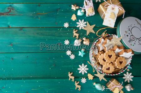 kleines weihnachtskekse jar
