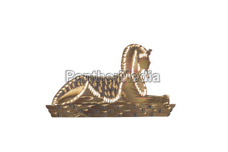 kultur freisteller golden abgeschieden AEgypten sphinx