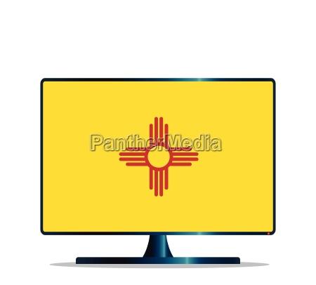 new mexico flag tv