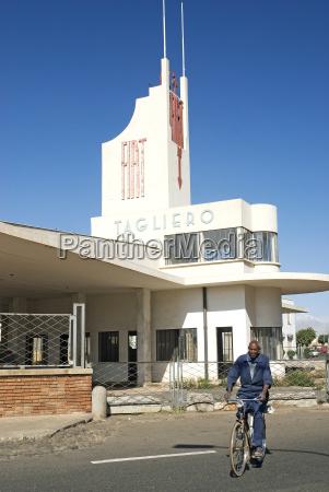 italienische kolonialarchitektur in asmara eritrea