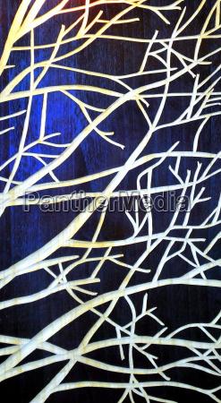 baum baeume AEste zweige nutzholz abstraktes