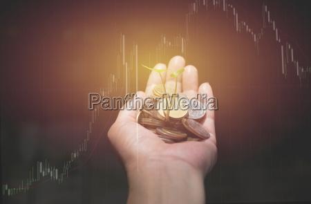 double exposure indicator graph analysis stock