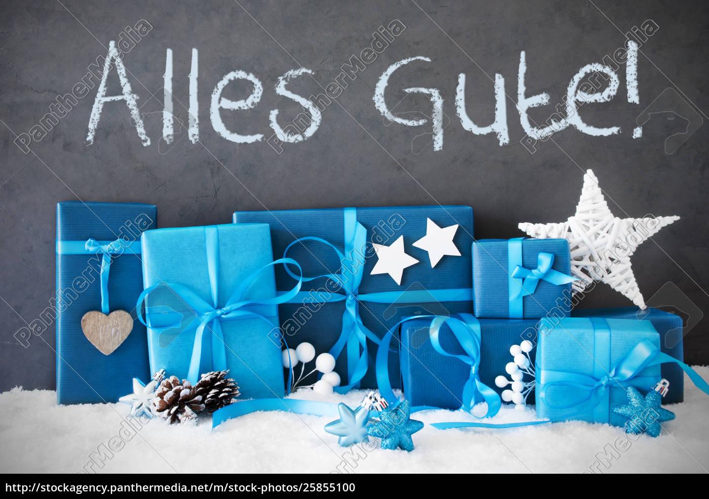 Beste Weihnachtsgeschenke.Lizenzfreies Foto 25855100 Weihnachtsgeschenke Schnee Alles Gute Bedeutet Beste Wünsche
