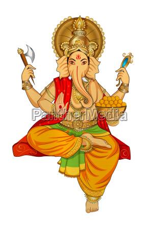 ganesha hindu lord faith mythology bless