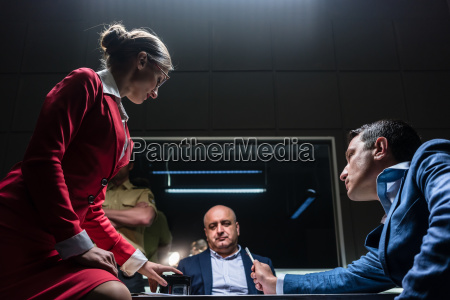 attorney in disagreement with the prosecutor