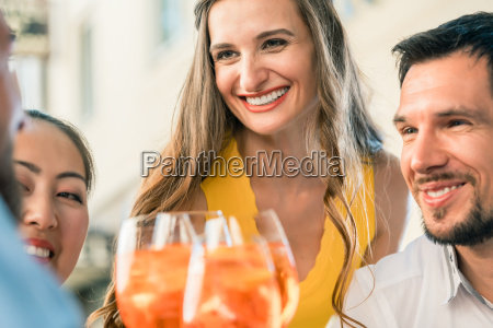beautiful woman and her best friends