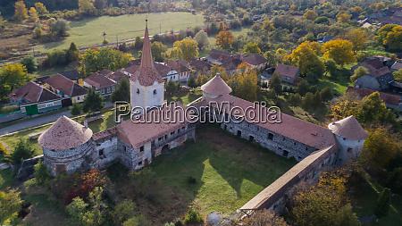 ruins of medieval castle bethlen racos