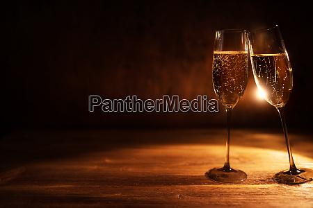 sparkling champagne to celebrate