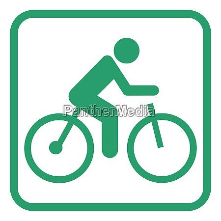 elektrisches fahrradpiktogramm