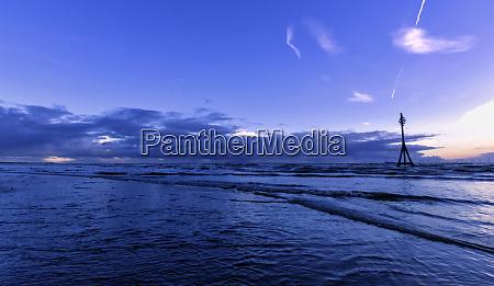 sonnenuntergang strand abendrot ort sonnenstand staette
