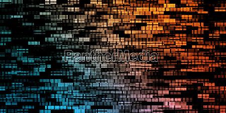 digitaler abstrakt