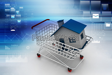 house in trolley