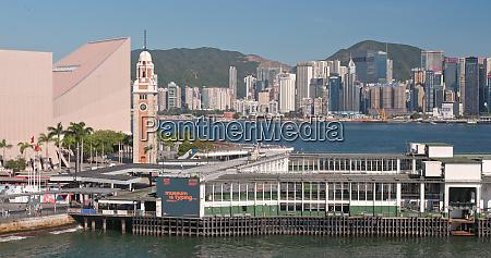victoria harbor hong kong 31 may