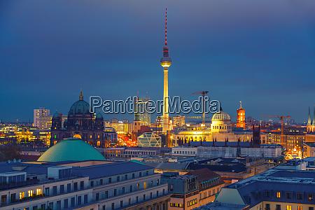 berliner luftaufnahme deutschland