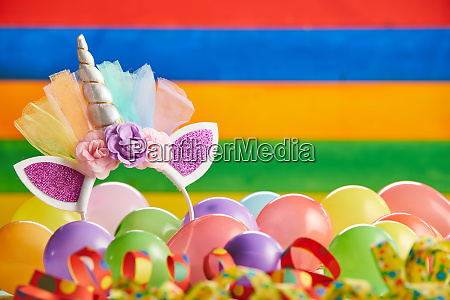 festive colorful carnival or party background