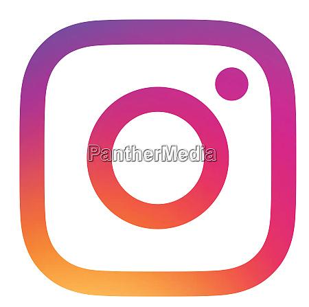 instagram social media kommunikation logo illustration