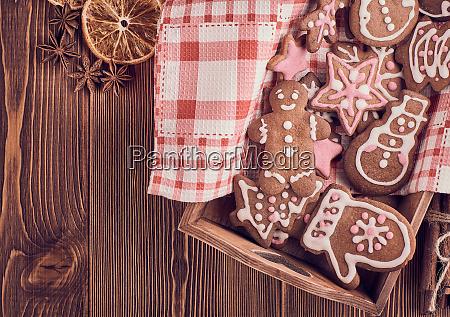 weihnachts lebkuchen plaetzchen