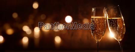 champagner zum feiern
