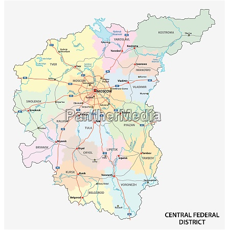 central federal district road administrative and
