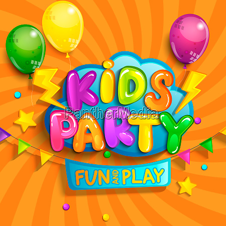 super banner for kids party in