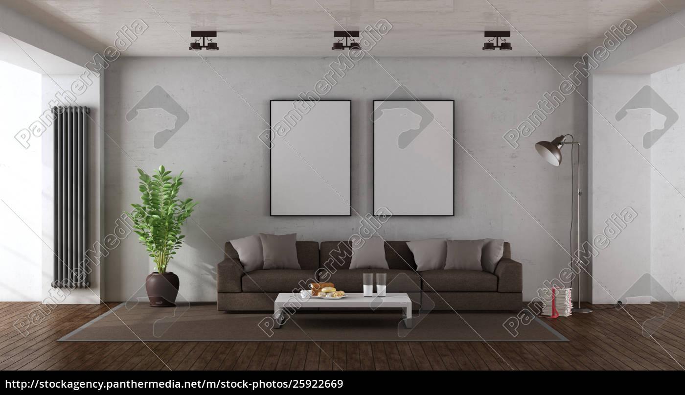 Lizenzfreies Bild 25922669 Minimalistisches Wohnzimmer