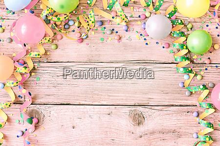 festival oder karnevalshintergrund in pastellfarben