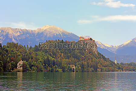 lake bled and bled castle in