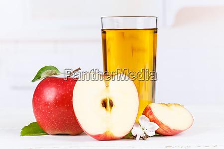 apfelsaft frust AEpfel trinken glas
