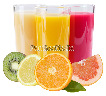 juice smoothie in glass square fruits