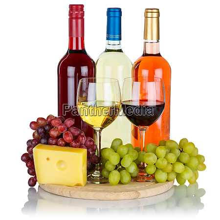 rose red wine cheese wines grapes