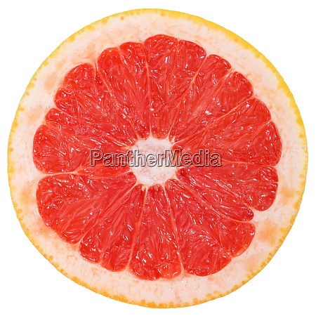 grapefruit slice fruit sliced isolated on
