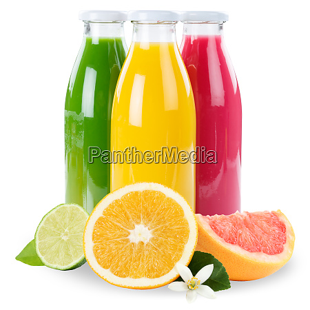 saft smoothie orangenfruechte smoothies in flasche