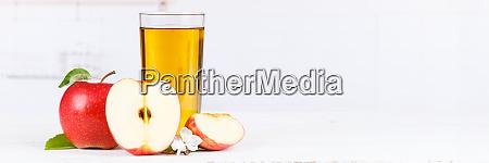 apfelsaft, fruchtsaft, Äpfel, trinken, banner, copyspace - 25930008