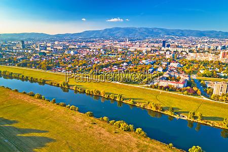 kroatien europa zagreb stadt stadt hauptstadt