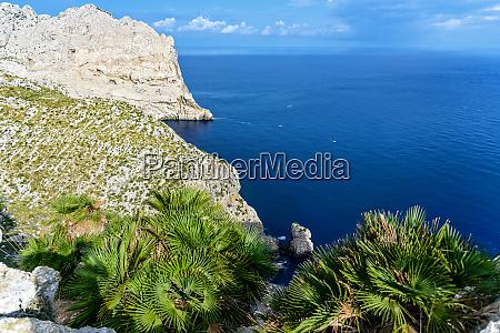 cap de formentor horizon mediterranean sea