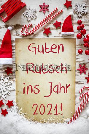 helle weihnachtsflat lay guten rutsch 2021