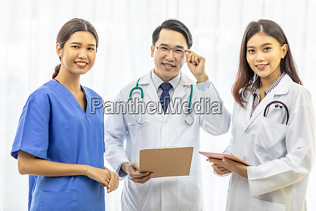 group of doctor