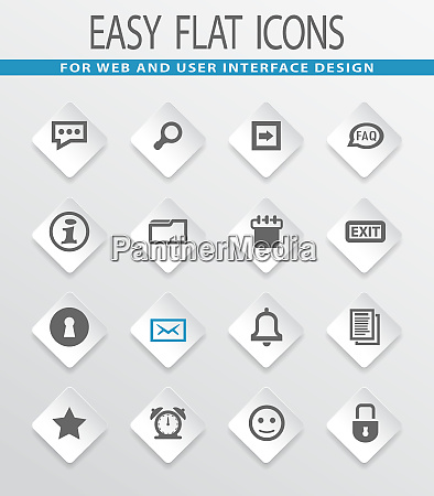 forum interface icons gesetzt