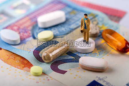 pharmacy industry business concept businessman standing
