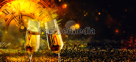 bokeh shiny abstract background with