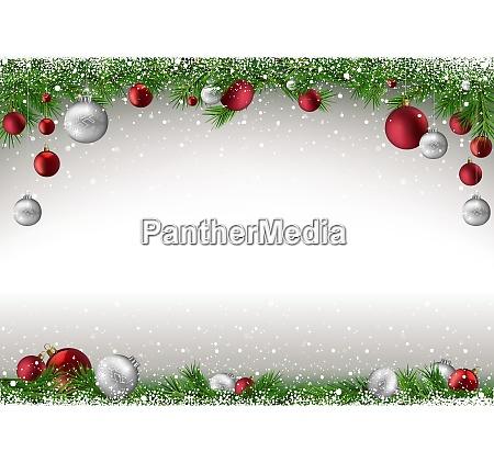 weihnachtsgrund mit filialen und bausteinen